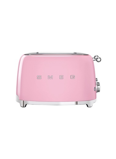 Smeg Pembe 1x4 Ekmek Kızartma Makinesi Pembe